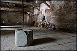 Il Forte di Fenestrelle. L'interno dei Quartieri, luogo di prigionia durante il Risorgimento. The Fortress of Fenestrelle.