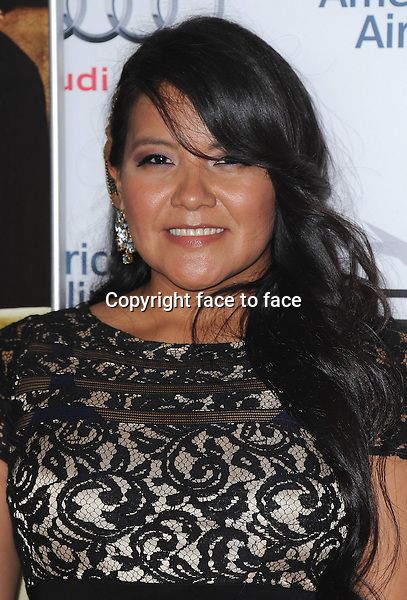 HOLLYWOOD, CA - NOVEMBER 8:  Misty Upham arrives at the 2013 AFI Fest - &quot;August: Osage County&quot; gala screening at TCL Chinese Theatre on November 8, 2013 in Hollywood, California. <br />