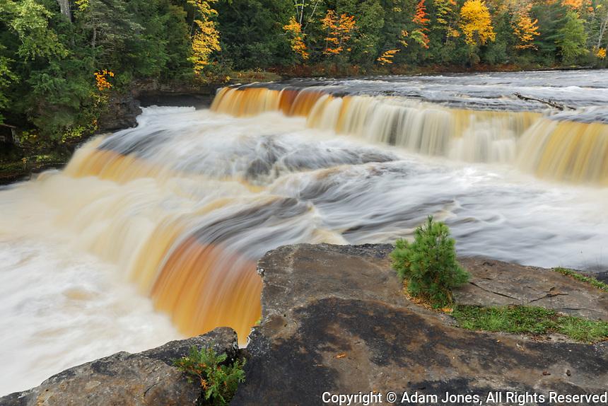 Tahquamenon Falls, Tahquamenon Falls State Park, Whitefish, Michigan, Upper Peninsula of Michigan