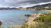 Küste am Hapimag Resort in Paguera - Peguera 25.05.2019: Mallorca