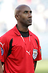 20 March 2008: Referee Neal Brizan (TRI). The Honduras U-23 Men's National Team defeated the Guatemala U-23 Men's National Team 6-5 on penalty kicks after a 0-0 overtime tie at LP Field in Nashville,TN in a semifinal game during the 2008 CONCACAF Men's Olympic Qualifying Tournament. With the penalty kick victory, Honduras qualifies for the 2008 Beijing Olympics.