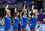 7th September 2017, Fenerbahce Arena, Istanbul, Turkey; FIBA Eurobasket Group D; Belgium versus Serbia; Cheerleaders performans during the match