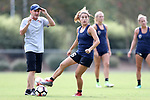 CARY, NC - AUGUST 24: Samantha Witteman. The North Carolina Courage held a training session on August 24, 2017, at WakeMed Soccer Park Field 7 in Cary, NC.