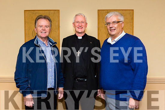 Kerry DIOCESAN ASSEMBLY at the Brandon Hotel on Sunday. deacons who are being ordained next weekend are Thady O'Connor, kilcumin killarney  and Denis Kelleher, St.Johns Tralee with Bishop of Kerry Ray Browne