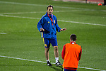 Spainsh coach Julen Lopetegui during the training of the spanish national football team in the city of football of Las Rozas in Madrid, Spain. November 08, 2016. (ALTERPHOTOS/Rodrigo Jimenez)