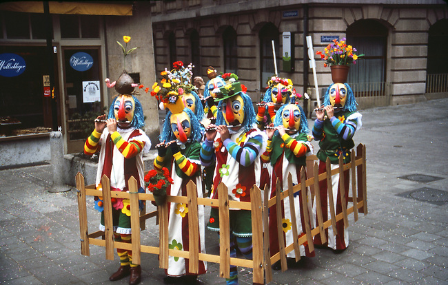 Fasnacht Celebration, Basel, Switzerland