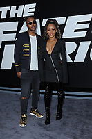 www.acepixs.com<br /> April 8, 2017  New York City<br /> <br /> Ohana Bam and Eden Estrella attending 'The Fate Of The Furious' New York premiere at Radio City Music Hall on April 8, 2017 in New York City.<br /> <br /> Credit: Kristin Callahan/ACE Pictures<br /> <br /> <br /> Tel: 646 769 0430<br /> Email: info@acepixs.com