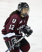 Rhianna Kurio (Union - 12) - The Northeastern University Huskies defeated the Union College Dutchwomen 4-1 on Saturday, October 3, 2009, at Matthews Arena in Boston, Massachusetts.