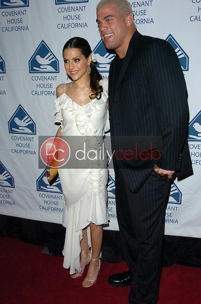 Brittany Murphy and Tito Ortiz<br />
