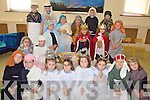 NATIVITY: Pupils of Killahan national school in Abbeydorney preparing for their Christmas nativity play which was held this week.