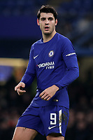 Alvaro Morata of Chelsea during Chelsea vs Arsenal, Caraboa Cup Football at Stamford Bridge on 10th January 2018