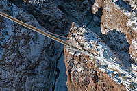winter at the Royal Gorge bridge