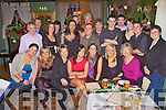 Moyvane badminton club members celebrating at their christmas party at Fitzgerald's restaurant, Listowel on Saturday night.....   Copyright Kerry's Eye 2008