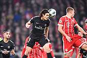 December 5th 2017, Allianze Arena, Munich, Germany. UEFA Champions league football, Bayern Munich versus Paris St Germain;  09 EDINSON CAVANI (psg)