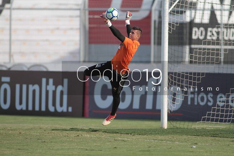 CAMPINAS, SP 16.04.2018-PONTE PRETA- Jogador Ivan durante treino da Ponte Preta no Estadio Moises Lucarelli, na cidade de Campinas (SP), nesta segunda-feira (16). (Foto: Denny Cesare/Codigo19)