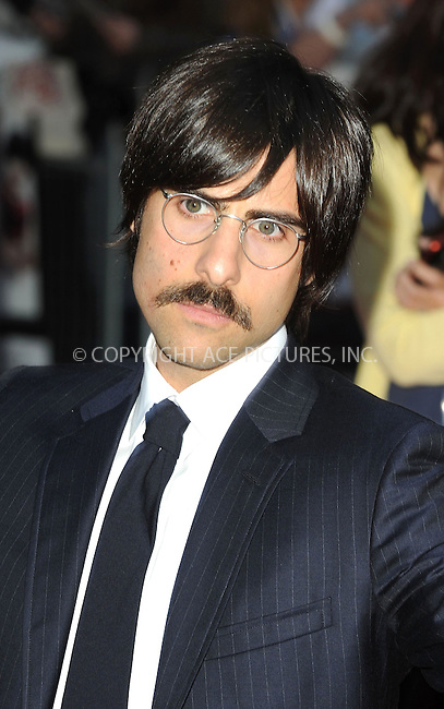 WWW.ACEPIXS.COM . . . . .  ..... . . . . US SALES ONLY . . . . .....August 18 2010, London....Jason Schwartzman arriving at the 'Scott Pilgrim Vs The World' European film premiere at The Empire cinema, Leicester Square on August 18, 2010 in London, England.....Please byline: FAMOUS-ACE PICTURES... . . . .  ....Ace Pictures, Inc:  ..Tel: (212) 243-8787..e-mail: info@acepixs.com..web: http://www.acepixs.com