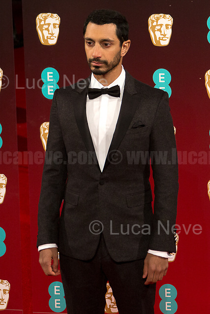 Riz Ahmed.<br /> <br /> London, 12/02/2017. Red Carpet of the 2017 EE BAFTA (British Academy of Film and Television Arts) Awards Ceremony, held at the Royal Albert Hall in London.<br /> <br /> For more information please click here: http://www.bafta.org/