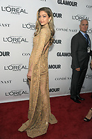 BROOKLYN, NY - NOVEMBER 13: Gigi Hadid  at Glamour's 2017 Women Of The Year Awards at the Kings Theater in Brooklyn, New York City on November 13, 2017. Credit: John Palmer/MediaPunch