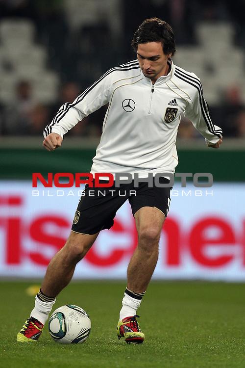 29.03.2011, Borussia-Park, Moenchengladbach, GER, Laenderspiel, Deutschland vs. Australien, im Bild: Mats Hummels (Deutschland #5, Dortmund)  Foto © nph / Mueller
