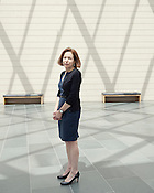 Nasher Museum Executive Director Kim Rorschach, inside the museum on the campus of Duke University, Durham, North Carolina, July 20, 2012