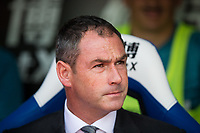 Swansea City manager Paul Clement  <br /> <br /> <br /> Photographer Craig Mercer/CameraSport<br /> <br /> The Premier League - Crystal Palace v Swansea City - Saturday 26th August 2017 - Selhurst Park - London<br /> <br /> World Copyright &copy; 2017 CameraSport. All rights reserved. 43 Linden Ave. Countesthorpe. Leicester. England. LE8 5PG - Tel: +44 (0) 116 277 4147 - admin@camerasport.com - www.camerasport.com