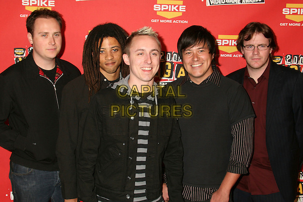 YELLOWCARD.Spike TV's 2006 Video Game Awards at the Galen Center - Arrivals, Los Angeles, California, USA, 08 December 2006..half length.CAP/ADM/BP.©Byron Purvis/Admedia/Capital Pictures