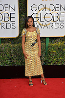 Kerry Washington at the 74th Golden Globe Awards  at The Beverly Hilton Hotel, Los Angeles USA 8th January  2017<br /> Picture: Paul Smith/Featureflash/SilverHub 0208 004 5359 sales@silverhubmedia.com