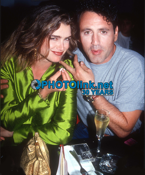 BrookeShields #FrankStallone 1991<br /> Photo By John BarrettPHOTOlink.net