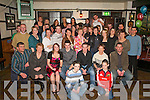 Kieran Murphy (front row forth from left) Rockfield, Killarney who celebrated his 21st birthday and Damian Clifford (fifth from left) Listry who celebrated his 18th birthday with their friends and family in Laurel's bar Killarney on Friday night.   Copyright Kerry's Eye 2008