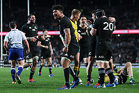 Ardie Savea during the Bledisloe Cup rugby match between the New Zealand All Blacks and Australia Wallabies at Eden Park in Auckland, New Zealand on Saturday, 17 August 2019. Photo: Simon Watts / lintottphoto.co.nz