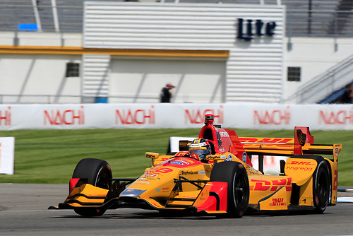 12-14 May, 2016, Indianapolis, Indiana, USA<br /> Ryan Hunter-Reay<br /> ©2016, Phillip Abbott<br /> LAT Photo USA