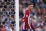 Fernando Torres of Atletico Madrid looks on during their 2016-17 UEFA Champions League match between Atletico Madrid vs FC Bayern Munich at the Vicente Calderon Stadium on 28 September 2016 in Madrid, Spain. Photo by Diego Gonzalez Souto / Power Sport Images