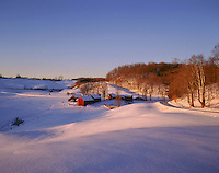 Jenne Farm, winter, S. Woodstock, VT