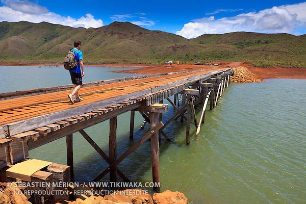 Pont Pérignon, Parc de la Rivière Bleue, Yaté, Nouvelle-Calédonie