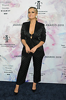 05 June 2019 - New York, New York - Bebe Rexha. 2019 Fragrance Foundation Awards held at the David H. Koch Theater at Lincoln Center. Photo Credit: LJ Fotos/AdMedia