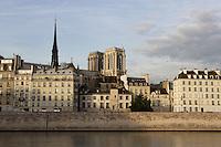 Notre Dame de Paris, 1163 - 1345, initiated by the bishop Maurice de Sully, Ile de la Cité, Paris, France. Picture by Manuel Cohen