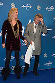 London, UK. 19 January 2016. Penny Lancaster and Rod Stewart. Celebrities arrive on the red carpet for the London premiere of Amaluna, the latest show of Cirque du Soleil, at the Royal Albert Hall.