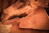 Hand of Time - S Utah - ancient Anasazi handprint - Ancestral Puebloan