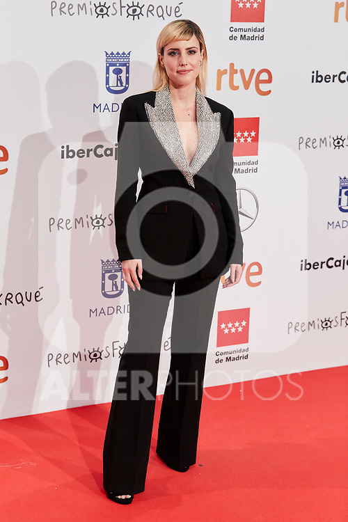 Natalia de Molina attends to XXV Forque Awards at Palacio Municipal de Congresos in Madrid, Spain. January 11, 2020. (ALTERPHOTOS/A. Perez Meca)