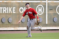 Boston Red Sox outfielder Danny Mars (40) during an Instructional League game against the Minnesota Twins on September 26, 2014 at jetBlue Park at Fenway South in Fort Myers, Florida.  (Mike Janes/Four Seam Images)