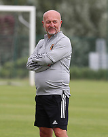 20200605 - TUBIZE , Belgium : Team manager Rudy Vanderelst pictured during a training session of the Belgian national women's soccer team called the Red Flames during their after Corona – Covid training week, on the 5 th of June 2020 in Tubize.  PHOTO SEVIL OKTEM| SPORTPIX.BE