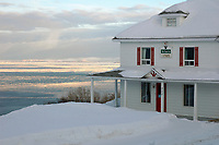 View on the Saint-Lawrence river  <br /> <br /> PHOTO  : Guy Sabourin<br />  - Agence Quebec Presse