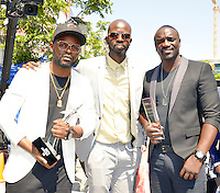 LOS ANGELES, CA - JUNE 26: Akon at the 2016 BET Awards at the Microsoft Theater on June 26, 2016 in Los Angeles, California. Credit: Koi Sojer/MediaPunch