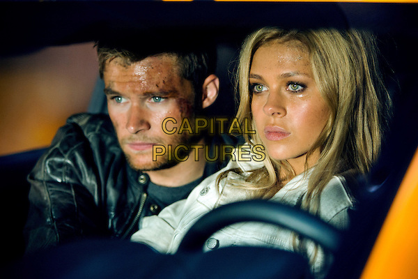 Jack Reynor, Nicola Peltz<br /> in Transformers: Age of Extinction (2014) <br /> *Filmstill - Editorial Use Only*<br /> CAP/FB<br /> Image supplied by Capital Pictures