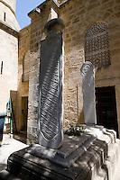 Nordzypern, Arab Achmet Moschee in Nicosia (Lefkosa), Grabstein