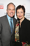 Stephen Flaherty and Lynn Ahrens attends the Dramatists Guild Fund Gala 'Great Writers Thank Their Lucky Stars : The Presidential Edition' at Gotham Hall on November 7, 2016 in New York City.