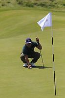 Yusaku Miyazato (JPN) on the 6th green during Thursday's Round 1 of the Dubai Duty Free Irish Open 2019, held at Lahinch Golf Club, Lahinch, Ireland. 4th July 2019.<br /> Picture: Eoin Clarke | Golffile<br /> <br /> <br /> All photos usage must carry mandatory copyright credit (© Golffile | Eoin Clarke)