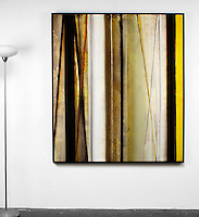 "Evans: , Digital Print, Framed Dims. Black Float, 63.25"" x 55"" x 2"" , Horizontal or Vertical"
