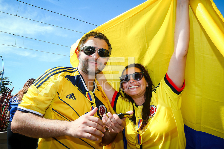 Photo before the match United States vs Colombia, Corresponding Group -A- America Cup Centenary 2016, at Levis Stadium<br /> <br /> Foto previo al partido Estados Unidos vs Colombia, Correspondiante al Grupo -A-  de la Copa America Centenario USA 2016 en el Estadio Levis, en la foto: Fans<br /> <br /> 03/06/2016/MEXSPORT/German Alegria.