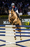 Clarissa Lyra of Hong Kong riding Chardonay Hara Des Barrages competes in the Maserati Masters Power during the Longines Masters of Hong Kong at AsiaWorld-Expo on 10 February 2018, in Hong Kong, Hong Kong. Photo by Ian Walton / Power Sport Images